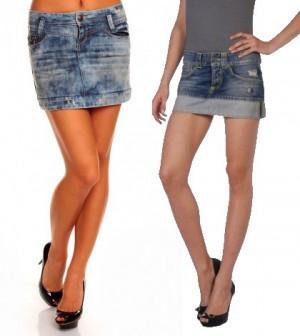 info for 02b9c b6e4d Minigonna di jeans, come indossarla?