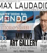 Max Laudadio e la sua mostra fotografica