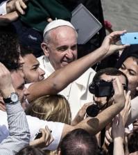 selfie Papa Francesco