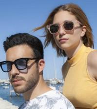 occhiali da sole wondersol indossati